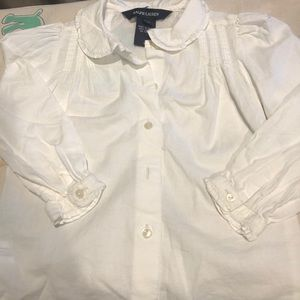 Beautiful Ralph Lauren 3T cotton blouse